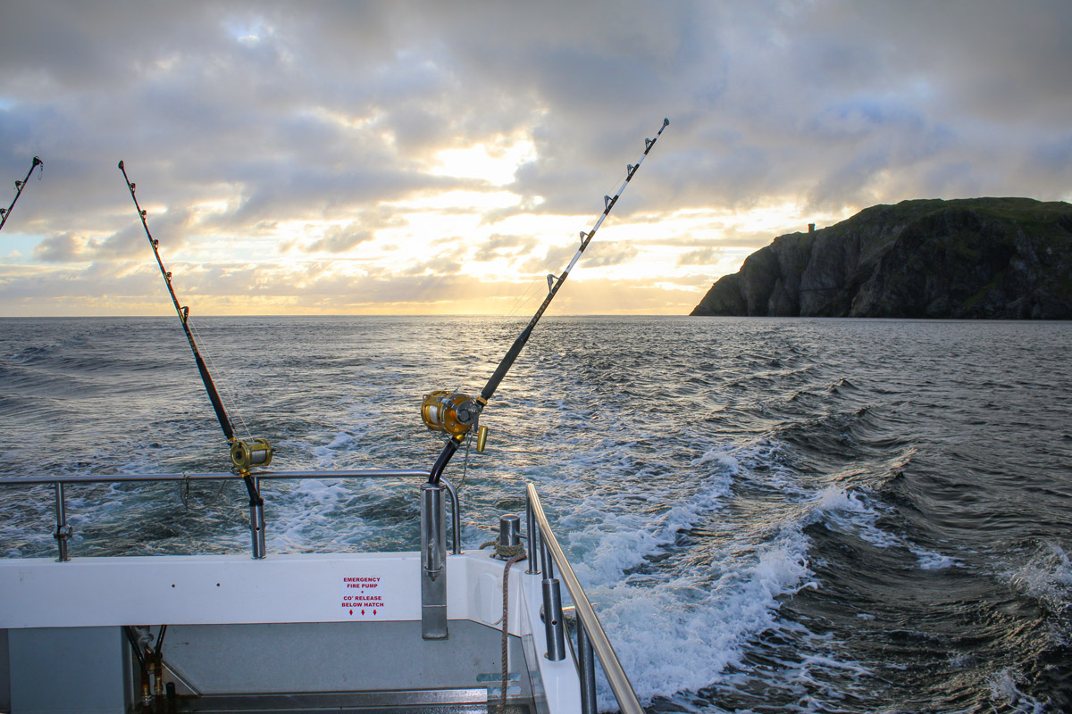 Bluefin tuna fishing off the stunning Donegal coastline
