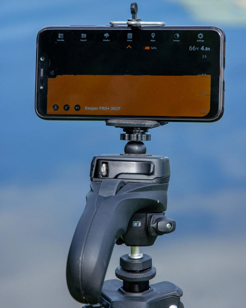 Deeper PRo+ tripod mount