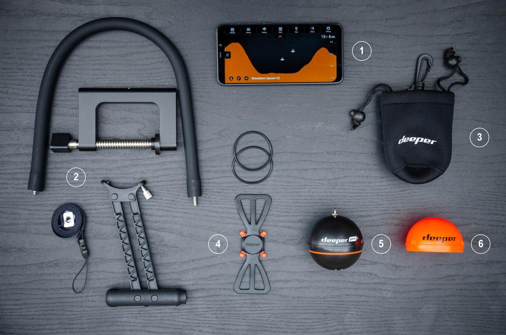 Deeper Pro+ accessories