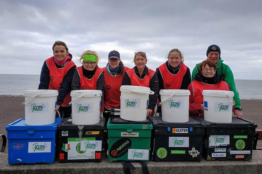 Irish Ladies Shore Angling team 2018