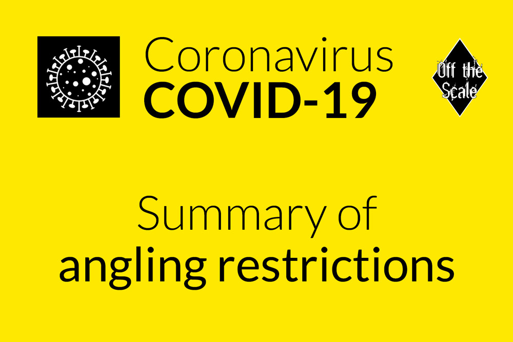 COVID-19 angling restrictions
